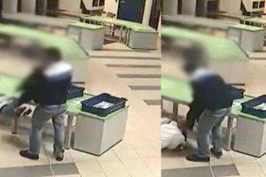Ochroniarz uratował dziecko na lotnisku
