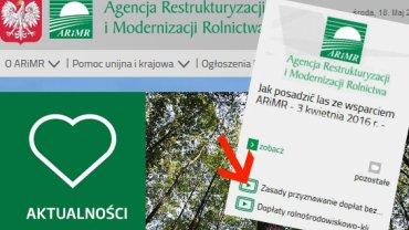Na stronie rządowej agencji niektóre linki odsyłają do...