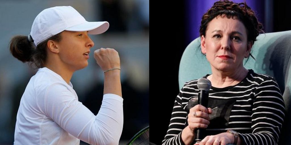 Olga Tokarczuk pogratulowała zwycięstwa na Roland Garros Idze Świątek