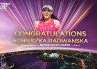 WTA Finals. Kobiecy tenis jak kopalnia złota