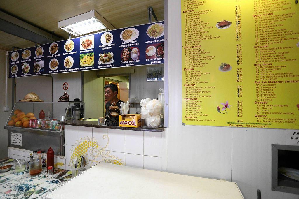 Sklep z produktami azjatyckimi na Bakalarskiej