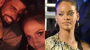 Drake, Jennifer Lopez, Rihanna