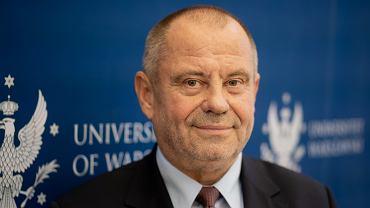 Rektor UW prof. dr hab. Alojzy Z. Nowak