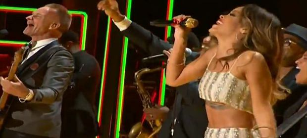 Rihanna, Sting, Bruno Mars