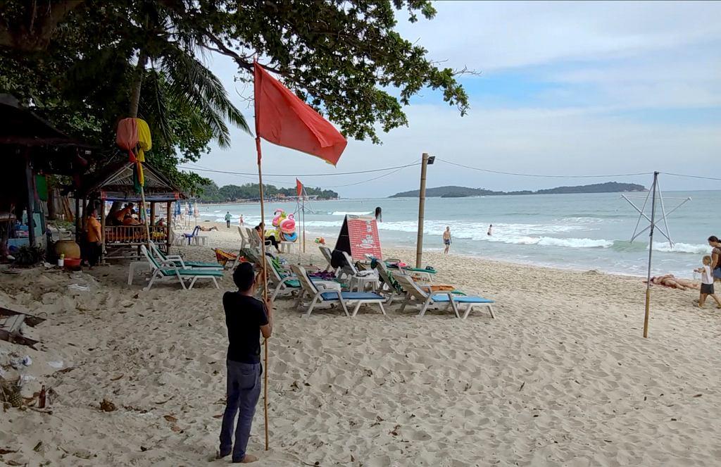 Sztorm tropikalny zagraża południowej Tajlandii
