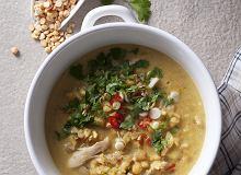 Rozgrzewająca zupa z kurczakiem - ugotuj