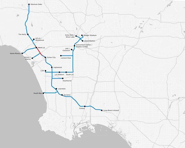 Elon Musk planuje stworzenie systemu tuneli