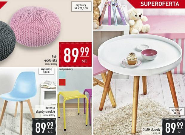 Carrefour i domowe inspiracje. Wybraliśmy najlepsze meble i dodatki z promocyjnej oferty