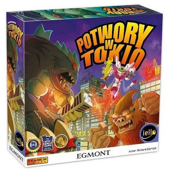 Potwory w Tokio - gra, która zbiera nagrody na całym świecie! Egmont