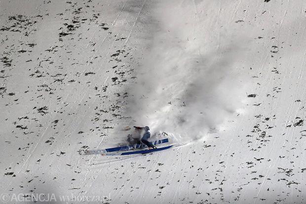 Skoki narciarskie. Nowe informacje o stanie zdrowia niemieckiego skoczka po upadku w Zakopanem