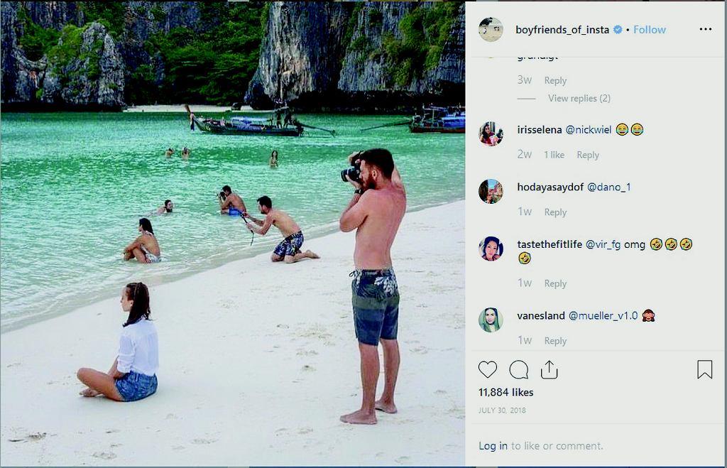 Boyfriends of Instagram