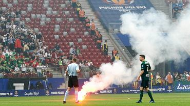 Zniszczenia po Pucharze Polski
