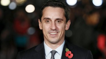 Na zdjęciu Gary Neville, były zawodnik Manchesteru United