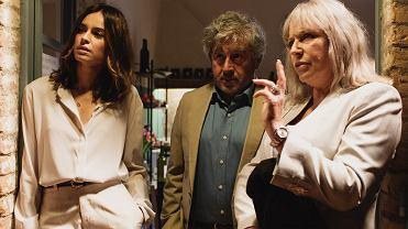 Kasia Smutniak, Antonio Catania i Krystyna Janda w filmie 'Słodki koniec dnia', reż. Jacek Borcuch