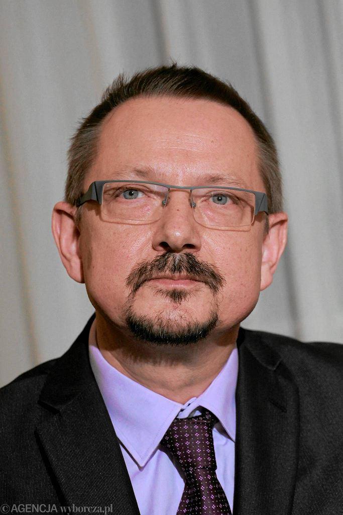 Lekarz Jacek Krajewski z Porozumienia Zielonogórskiego