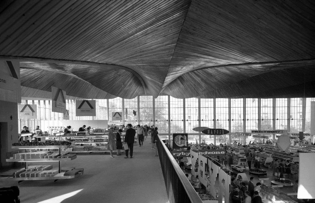 Wnętrze Supersamu, 1962 r.  / ZBYSZKO SIEMASZKO