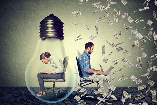 43 proc. Polek deklarowało w 2012 roku, że ich mąż/partner zarabia więcej