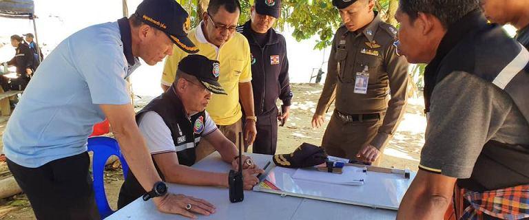 Tajlandia. Zaginął 26-letni Polak. Wraz z Tajką wypłynął w morze