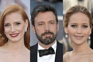 Jessica Chastain, Ben Affleck, Jennifer Lawrence