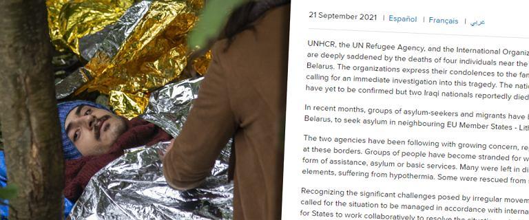 Agencja ONZ ds. migrantów zażądała dostępu do polskiej granicy