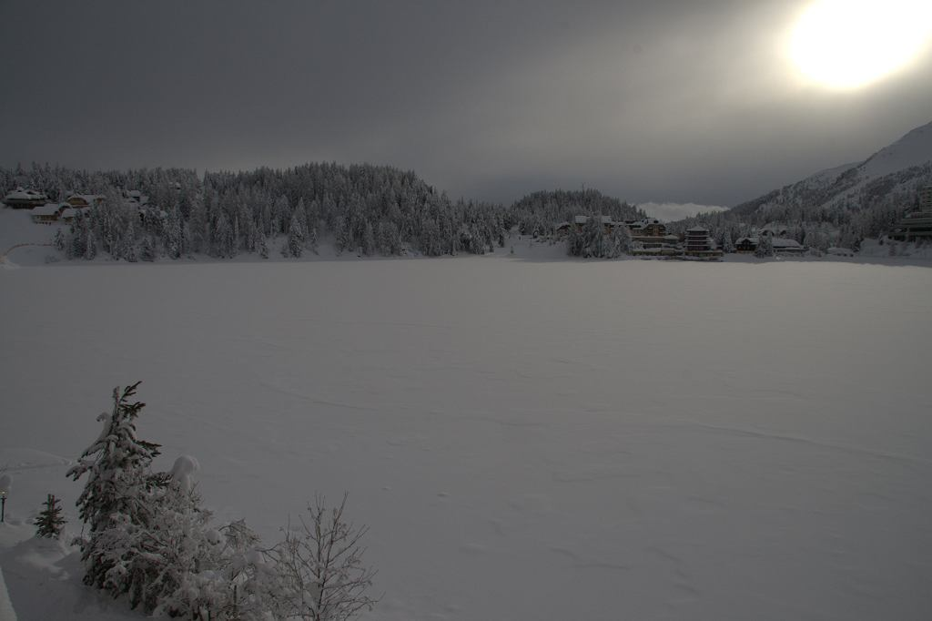 Widok z hotelu Seehotel Jägerwirt