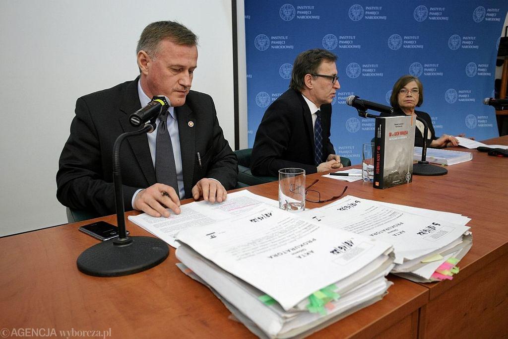 Konferencja IPN-u w sprawie teczek 'TW Bolek' (fot. Adam Stępień / Agencja Gazeta)