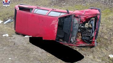 Wypadek w miejscowości Kolonia Wałowice