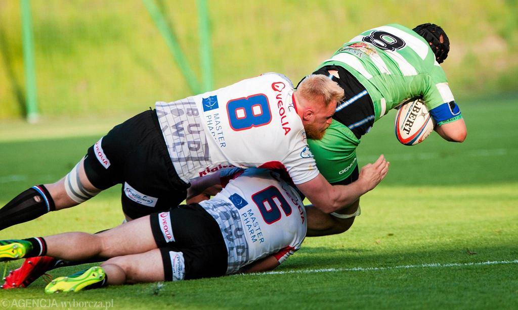 Finał ekstraligi rugby. Budowlani Łódź - Lechia Gdańsk 17:10