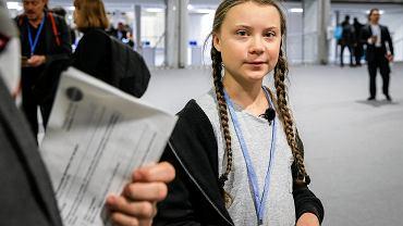 Greta Thunberg na szczycie klimatycznym COP 24