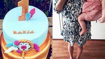 Urodziny córki Zofii Ślotały