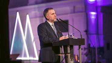 Marszałek Marek Woźniak - spotkanie noworoczne 2020 w auli UAM Poznań