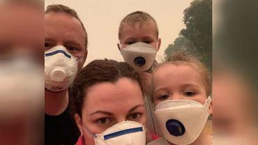 Rodzina przez sześć dni była uwięziona w kinie w czasie australijskich pożarów