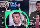 """Szczęsny wyjaśnił reakcję Ronaldo na triumf Lewandowskiego. """"Nagle, że obrażony"""""""