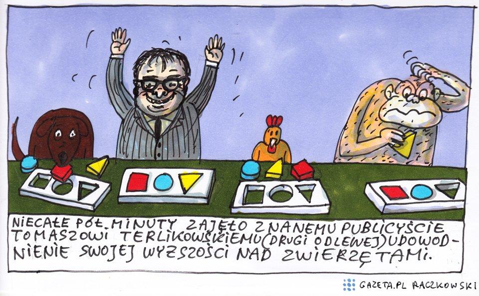 Marek Raczkowski dla Gazeta.pl - 29.12.2014 - rys. Marek Raczkowski