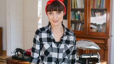 Ewelina Potoczna prowadzi firmę sprzątającą