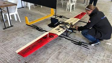 System UAV do ratownictwa medycznego na zawodach UAV Challenge 2018 Dalby, Australia.