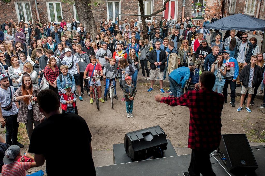 Zdjęcia z festiwalu Otwarta Ząbkowska w 2015 roku. / fot. Arek Drygas / źródło: um.warszawa.pl