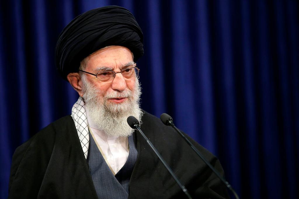 Najwyższy przywódca Iranu Ali Chamenei