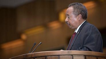 Premier Sudaniu Abdalla Hamdok
