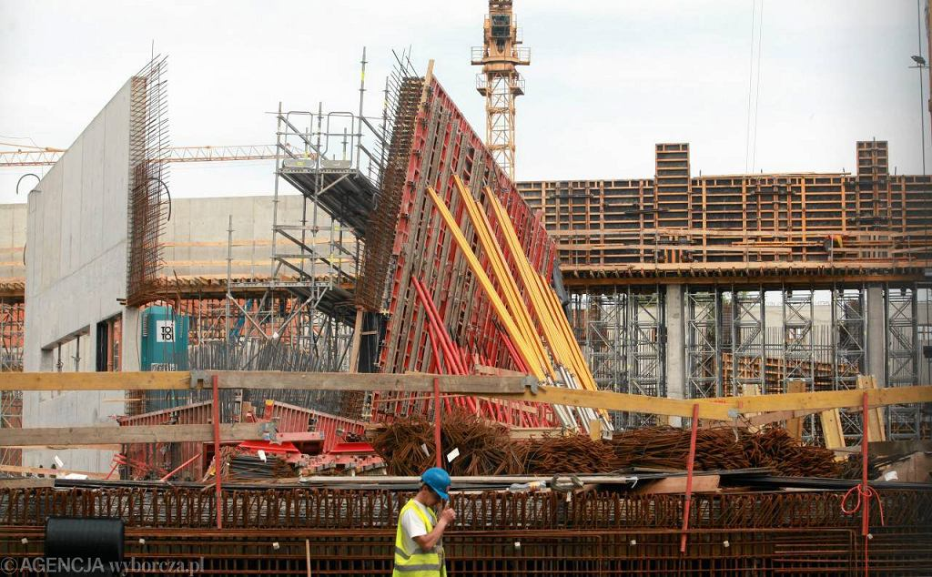 Inter-System buduje wrocławskie Afrykarium, 6 maja 2013 r.