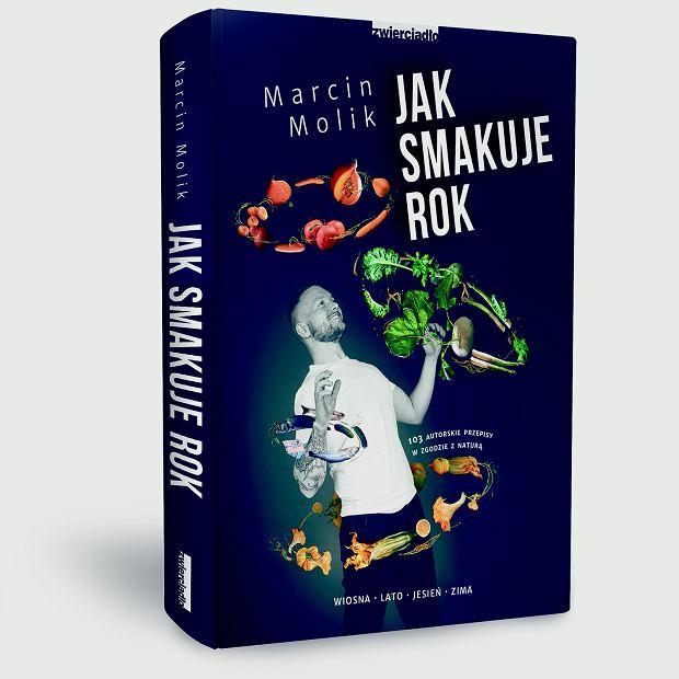 Okładka książki 'Jak smakuje rok' Marcina Molika