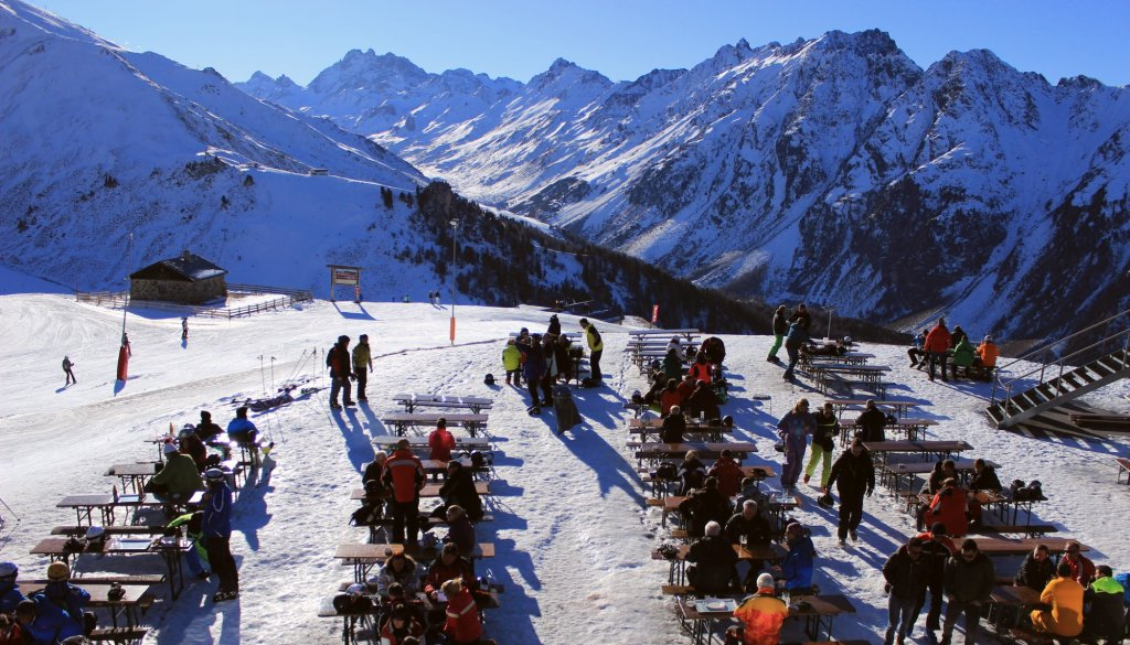 Kuchnia tyrolska na stoku