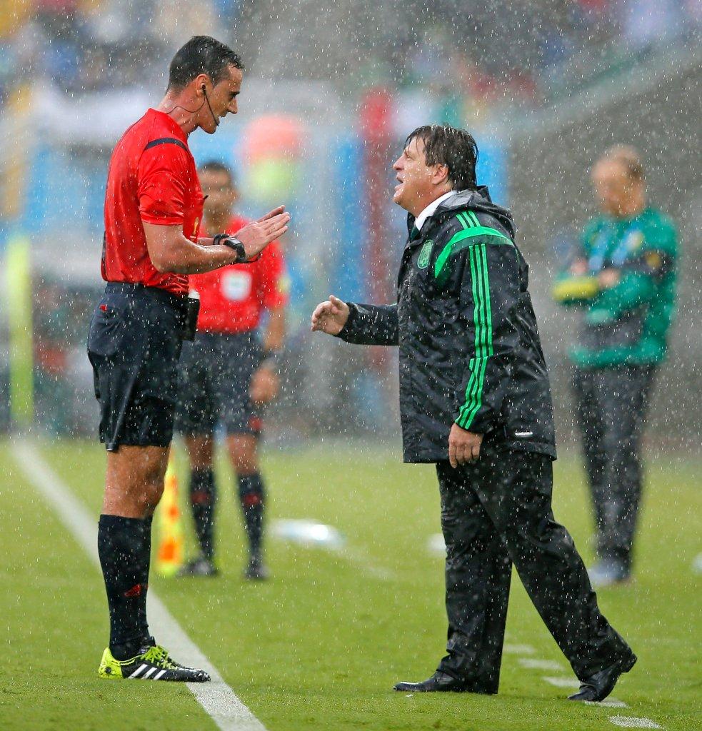 Trener reprezentacji Meksyku Miguel Herrera