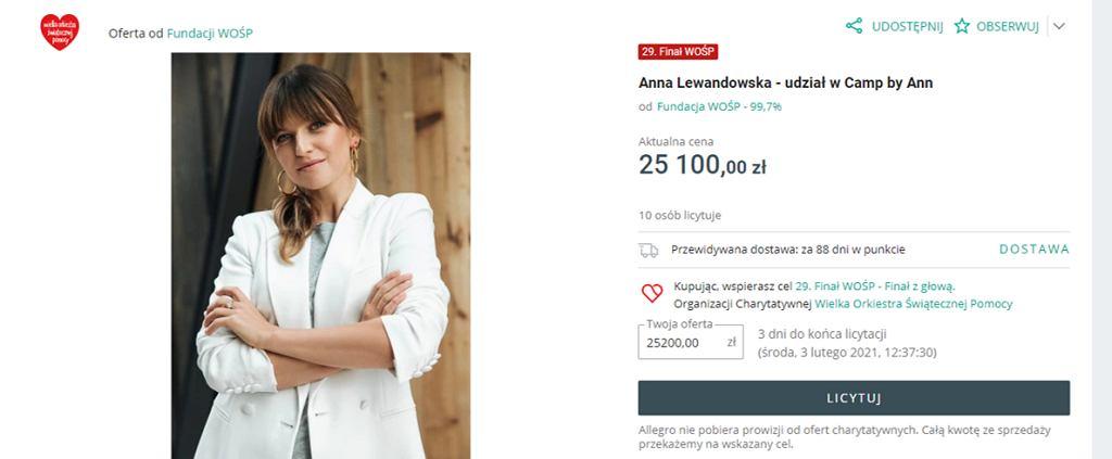 Aukcja WOŚP