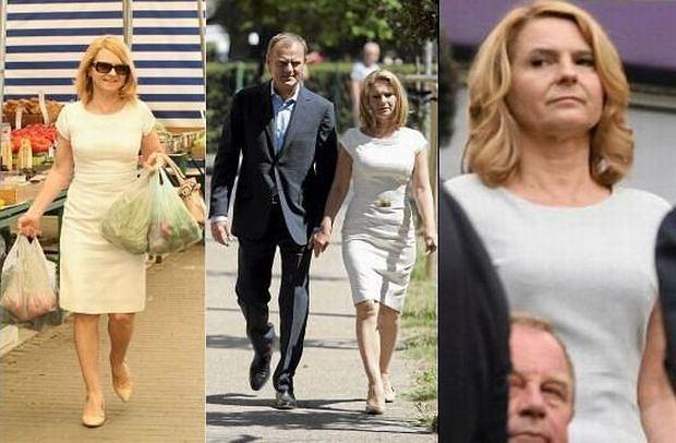 Małgorzata Tusk znowu w tej samej sukience.