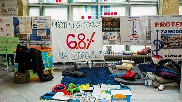 Strajk rezydentów. Uniwersytecki Szpital Dziecięcy w Prokocimiu, 30 października 2017
