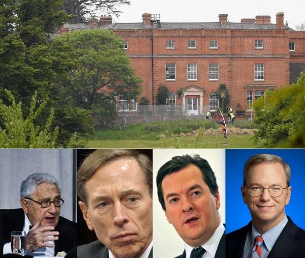 Hotel Grove, gdzie odbędzie się spotkanie grupy Bilderberg. Będą m.in. Henry Kissinger, Eric Schmidt David Petraeus i George Osborne