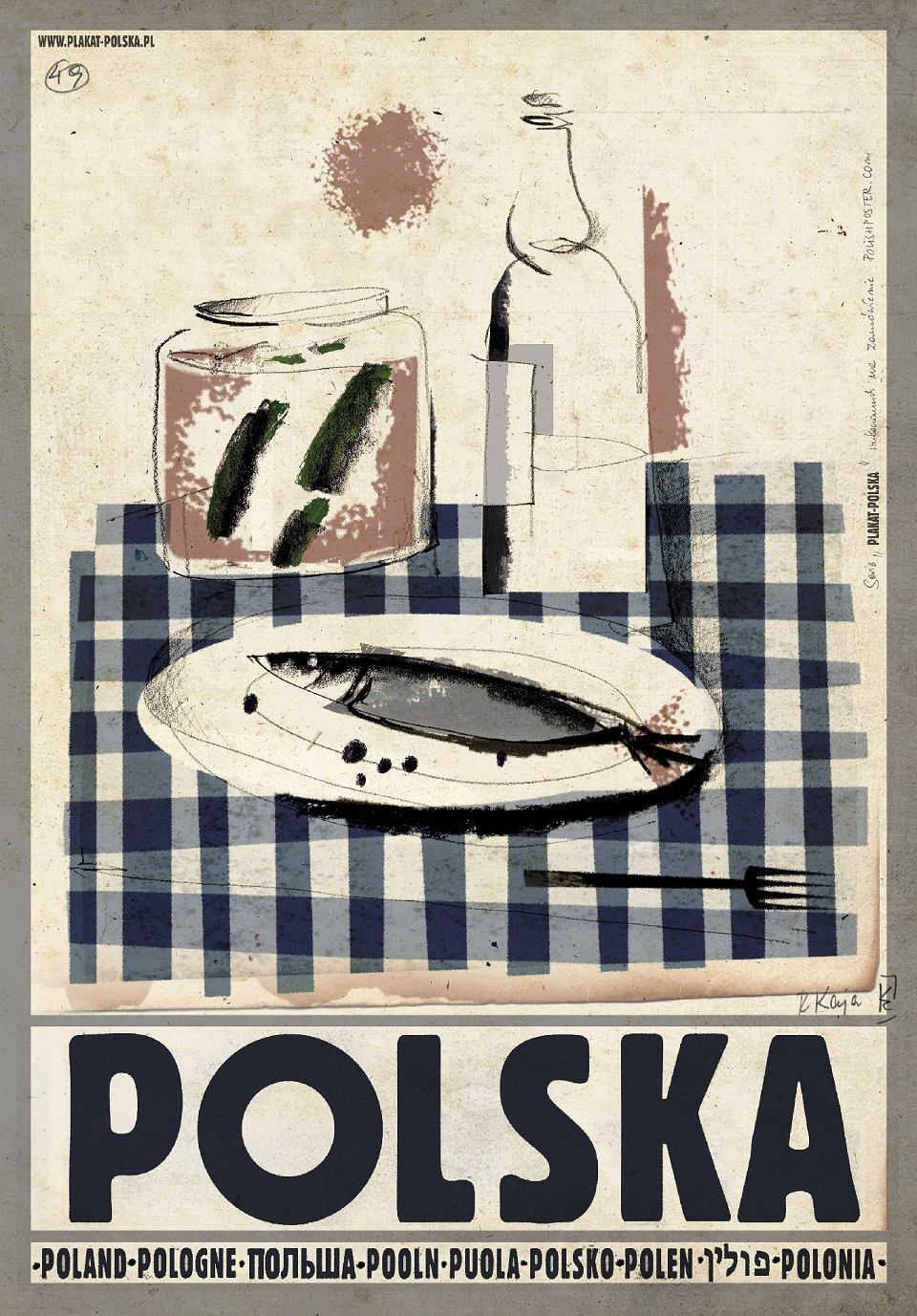 Ryszard Kaja Autor Plakatów Wódka Cerata I śledzik To