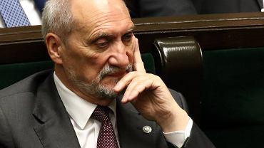Przewodniczący podkomisji smoleńskiej, były szef MON, Antoni Macierewicz