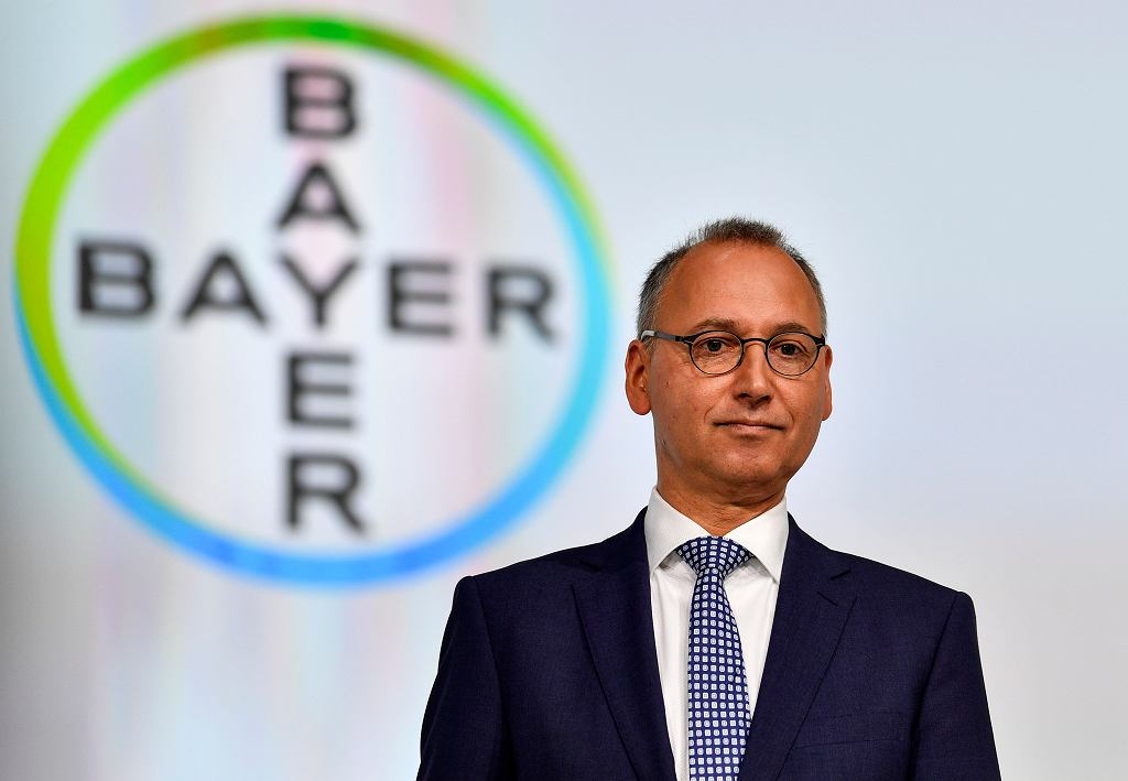 Szef Bayera Werner Baumann